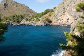 Torrent de Pareis - Sa Calobra bay in Majorca Spain