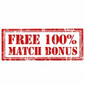 Free 100% Match Bonus-stamp