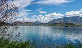 Lagoon In Butrint Archeological Site