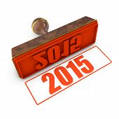 2015 Red Stamp