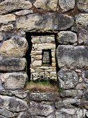 Machu Picchu stone window