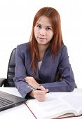 Young Woman Working