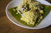 Mung Bean Rice Crepe Dessert