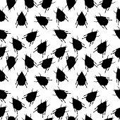 Beetles Seamless Pattern