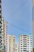 picture of orthogonal  - Multi-storey building structure building social housing neighborhood