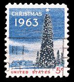 1963 Christmas stamp