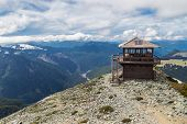 Mt. Freemont Lookout in Mt. Rainier National Park, Washington