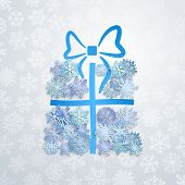 Gift Box Of Snowflakes