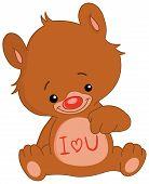 I Love U Bear.