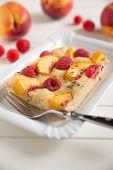 Raspberry Peach Pie
