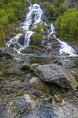 Flesana Waterfall In Norway