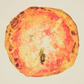 Retro Look Pizza Picture