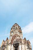 Phra Prang Sam Yod. Lopburi, Thailand. Religious Building