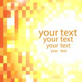 Abstract Shimmering Background In Yellow And Orange Colors With Place For Your Text
