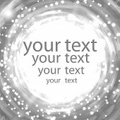 Abstract Shimmering Background In Gray Colors With Place For Your Text