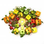 GMO frutas