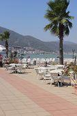 Views of Fethiye in Turkey
