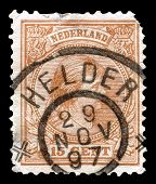 Holland stamp 1897