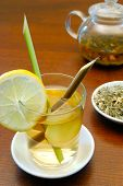 Lemongrass And Ginger Tea