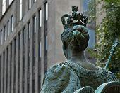 Queen Victoria statue Montreal
