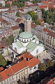 ZAGREB, CROATIA - OCTOBER 14: Church of Saint Blaisen in Zagreb on October 14, 2007 Zagreb, Croatia.