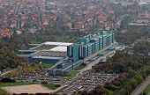 ZAGREB, CROATIA - OCTOBER 09: Clinical hospital Dubrava on October 09, 2007 in Zagreb Croatia. Public teaching hospital is among best medical facilities in the country; ranks 3rd nationwide.