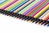 Multicolored Felt Pens