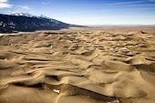 Deserto e montanhas