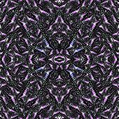 Seamless Purple Pattern Made Of Common Jay The Wild Green Butterfly Consolited In To The Great Backg