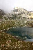 Violet Lake, Murudzhinskih Series Of Lakes, Caucasus