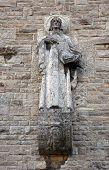 MUNSTERSCHWARZACH,GERMANY-17 JULY: St Matthew the Evangelist. Munsterschwarzach Abbey is a Benedicti