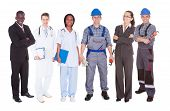 Confident People With Diverse Occupations