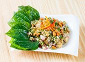 Deep Fried Barramundi With Spicy Salad