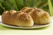 Sesame And Garlic Bread