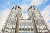 TOKYO - March 26 : Tokyo Metropolitan Building on March 26,2012 in Tokyo, JP. The building houses th