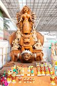Durga Idol, Art Work,  Indian Handicrafts Fair At Kolkata