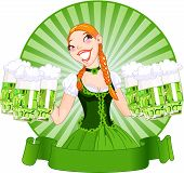 Saint Patrick's Day Girl
