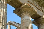 Ancient Greek columns and ruins
