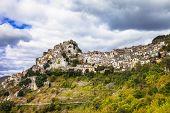 Cervara di Roma, hill top village, in Lazio province, Italy