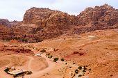 Jordan, Petra, View From Above