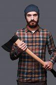Confident Lumberjack.