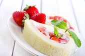 Strawberry Roulade