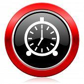 alarm icon alarm clock sign
