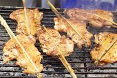 Bar-b-q Or Bbq Grill Of Chicken