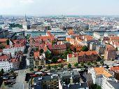 Aerial Veiw of Copenhagen
