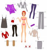 Dress-up Paper Doll