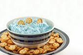 Sea Salt Caramel Dip With Mini Crackers