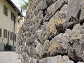 Stone Wall Perspective