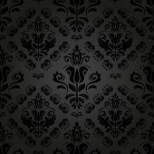 Wallpaper in the style of Baroquen. Abstract Vector Background
