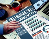 Business Growth Analysis Aspiration Planning Success Progress Concept